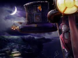 Midnight Encounter by LittleOph
