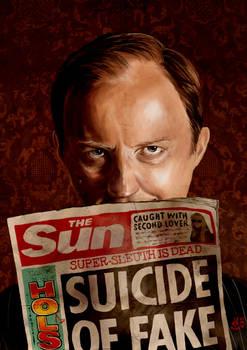 I Believe in Mycroft Holmes.