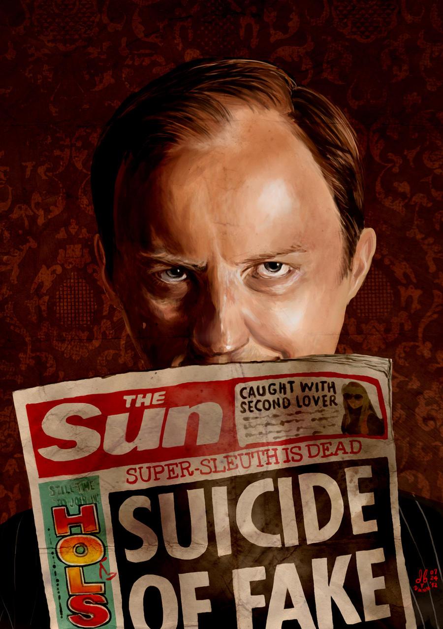 I Believe in Mycroft Holmes. by dummybunny