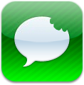 biteSMS to Green SMS Icon by 12199312