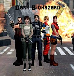 Dark Biohazard Fan Picture