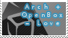 Arch+OpenBox Love Stamp by AnonymousLink