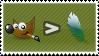 Stamp - GIMP Over Photoshop