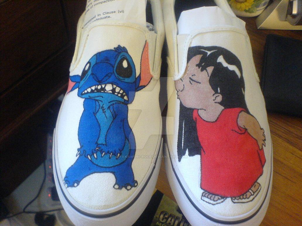 Lilo And Stitch shoes by Yakawuri-Role