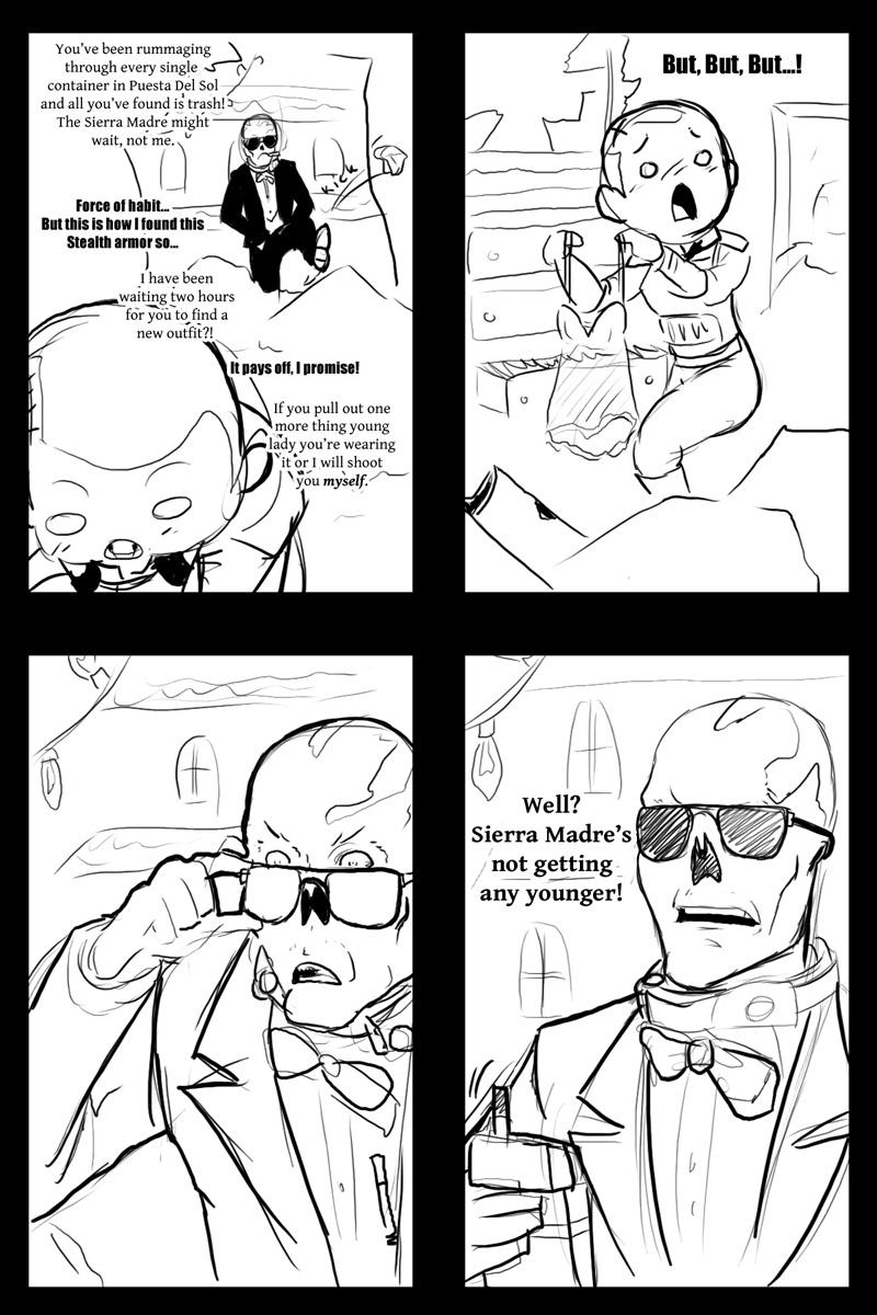 1 am Dead Money doodle by PsykerScum