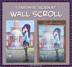 Starswirl Academy Wall Scroll Featuring Tai Saito