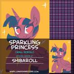 Sparkling Princess by Shibaroll