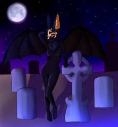 Miss Anubis The Jackal Goddess. By Pallid-Panda by GothamWolfess