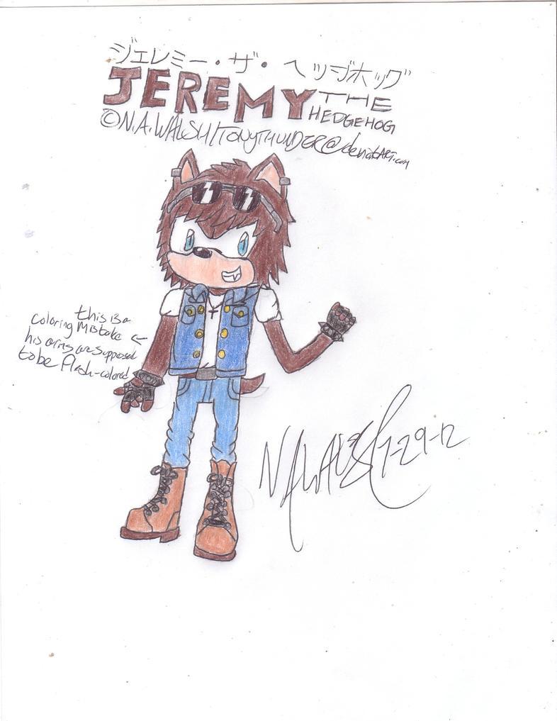 Jeremy the Hedgehog by Tonythunder