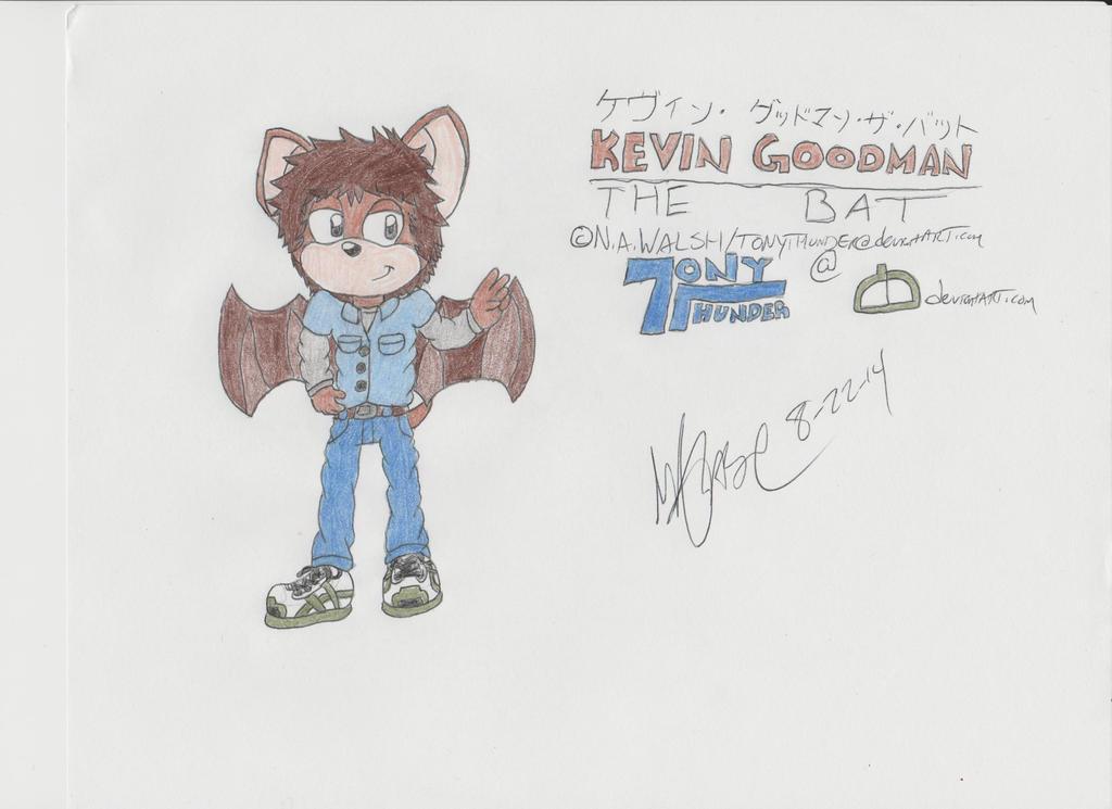 New Character:Kevin the Bat by Tonythunder