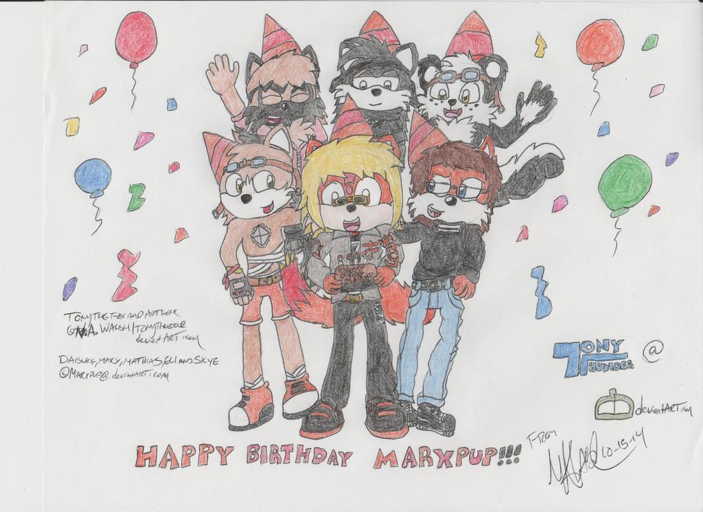 Birthday Gift for Marxpup by Tonythunder