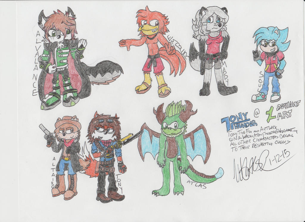 Random Character Batch Part 2 by Tonythunder