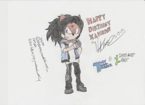 Birthday Gift for Xavier!