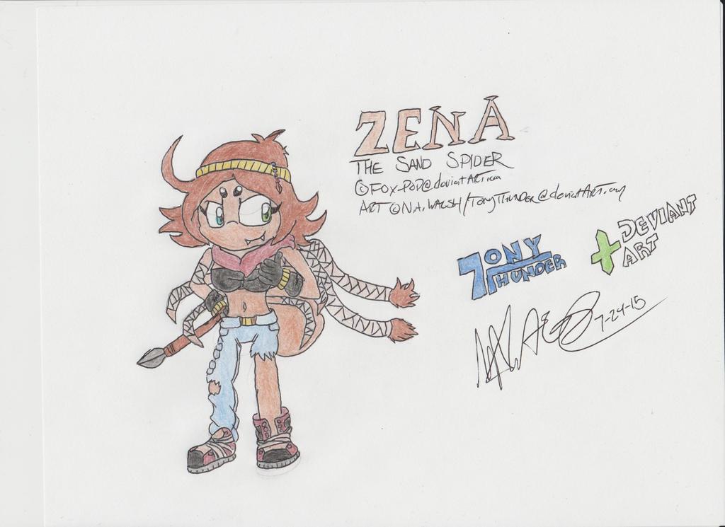 Heeeeeeeeere's Zena!! by Tonythunder