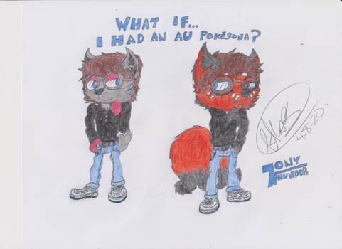 What if....I had an AU Pokesona