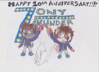 Ten Years of Tonythunder!!