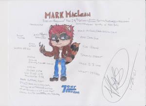 [NEW CHARACTER] Mark MacLean Ref