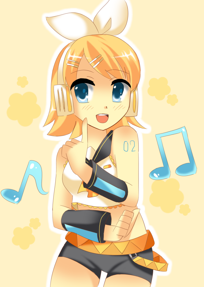 Kagamine Rin by 100procent-Juul