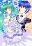Miku X Kaito - Wedding by 100procent-Juul