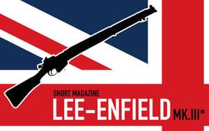Lee-Enfield SMLE Wallpaper by XenolsVectors