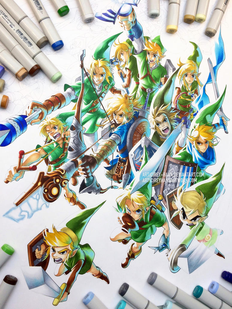 Link Generations (WIP) by Rey-HANA