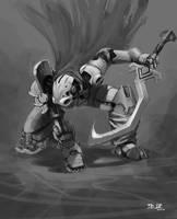 Cyborg warrior 2 by madspartan013