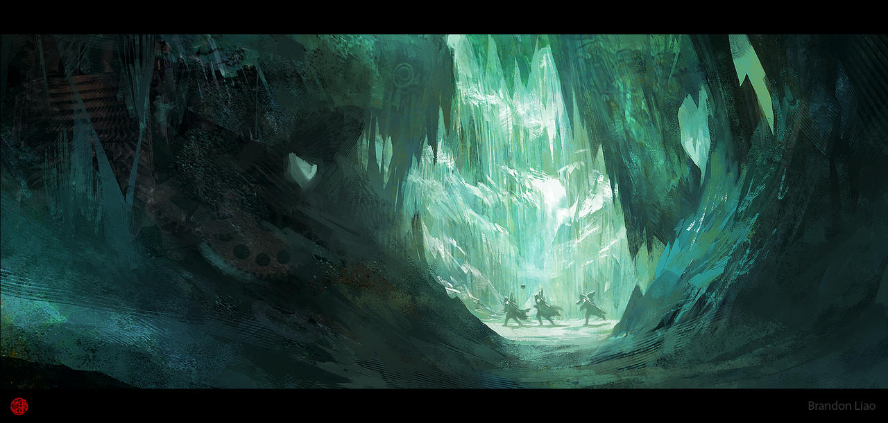 Ice Cave by madspartan013