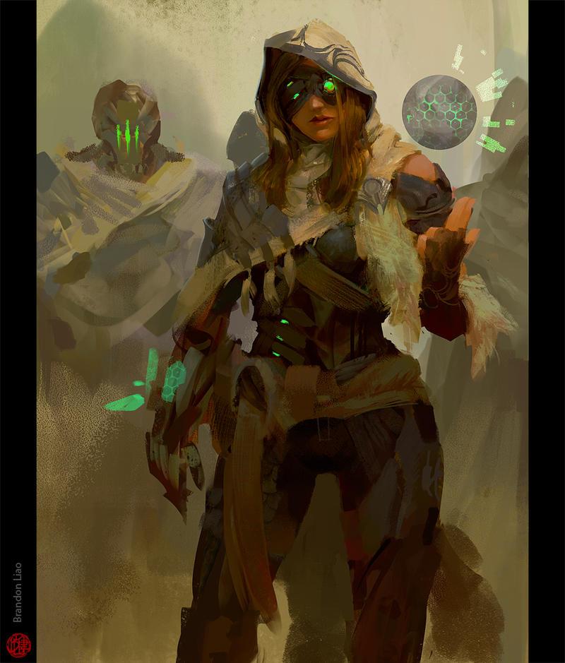 Cyborg Bandits by madspartan013