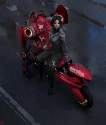 Centaur Bike by madspartan013