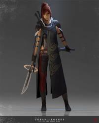 Blade Dancer by madspartan013