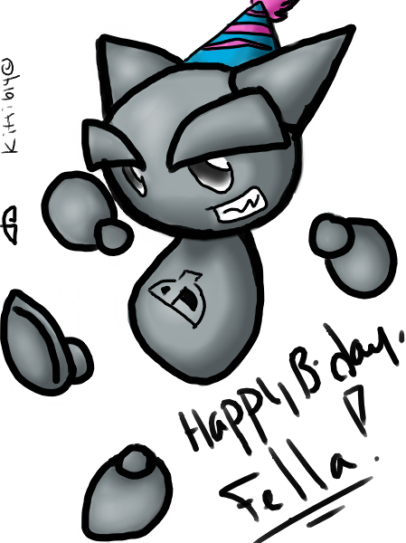 Happy Birthday Deviantart 8D by kitti614