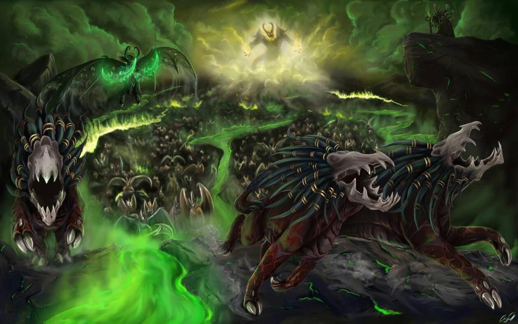 Wowhead Legion art contest by dizturbed