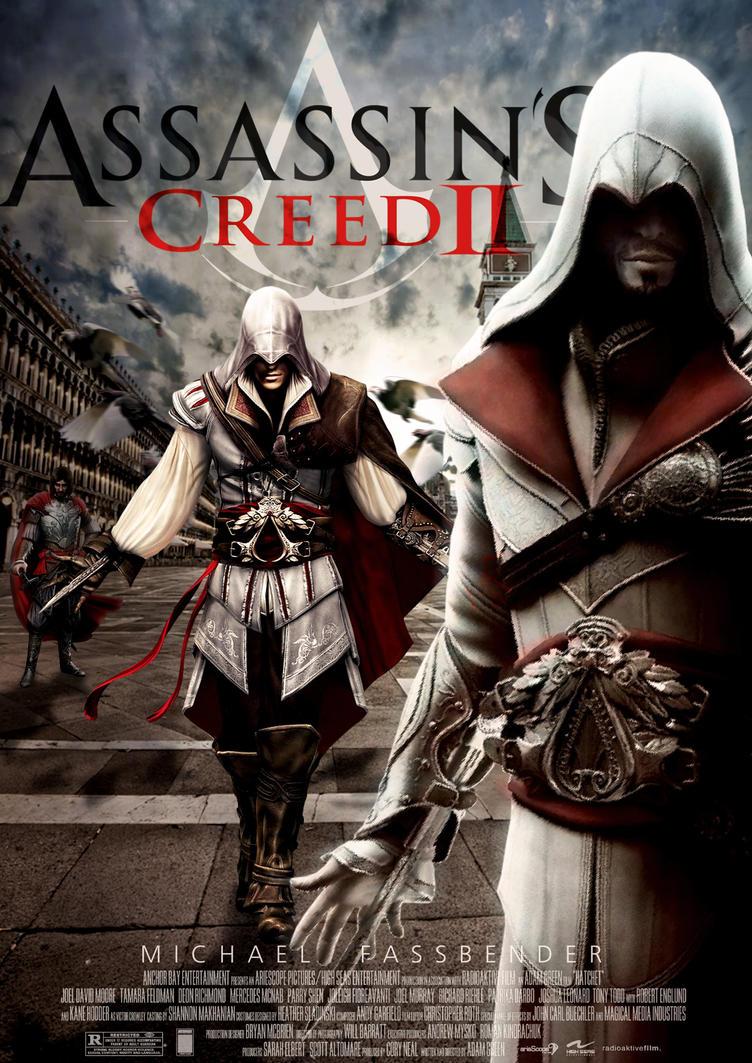 assassin 39 s creed ii movie poster by skitt les on deviantart. Black Bedroom Furniture Sets. Home Design Ideas