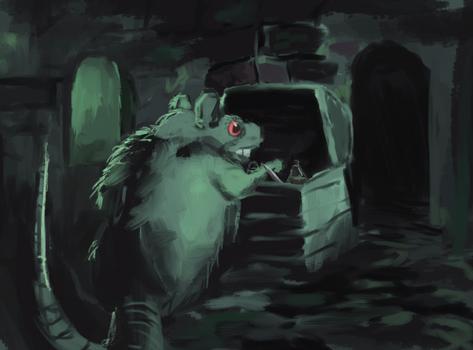 Scavenging Rat