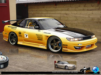 Nissan Silvia S13 by CapiDesign