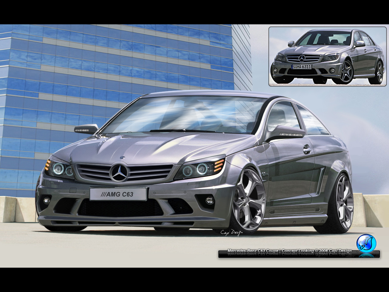 mercedes benz c63 amg by capidesign on deviantart. Black Bedroom Furniture Sets. Home Design Ideas