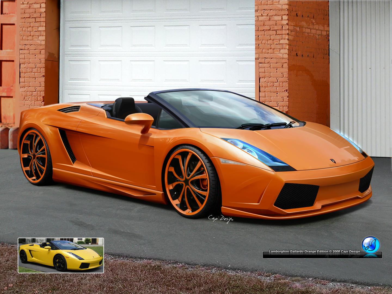 Lamborghini Gallardo Orange Ed By CapiDesign Lamborghini Gallardo Orange Ed  By CapiDesign