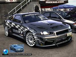 Nissan Skyline  GT-R by CapiDesign