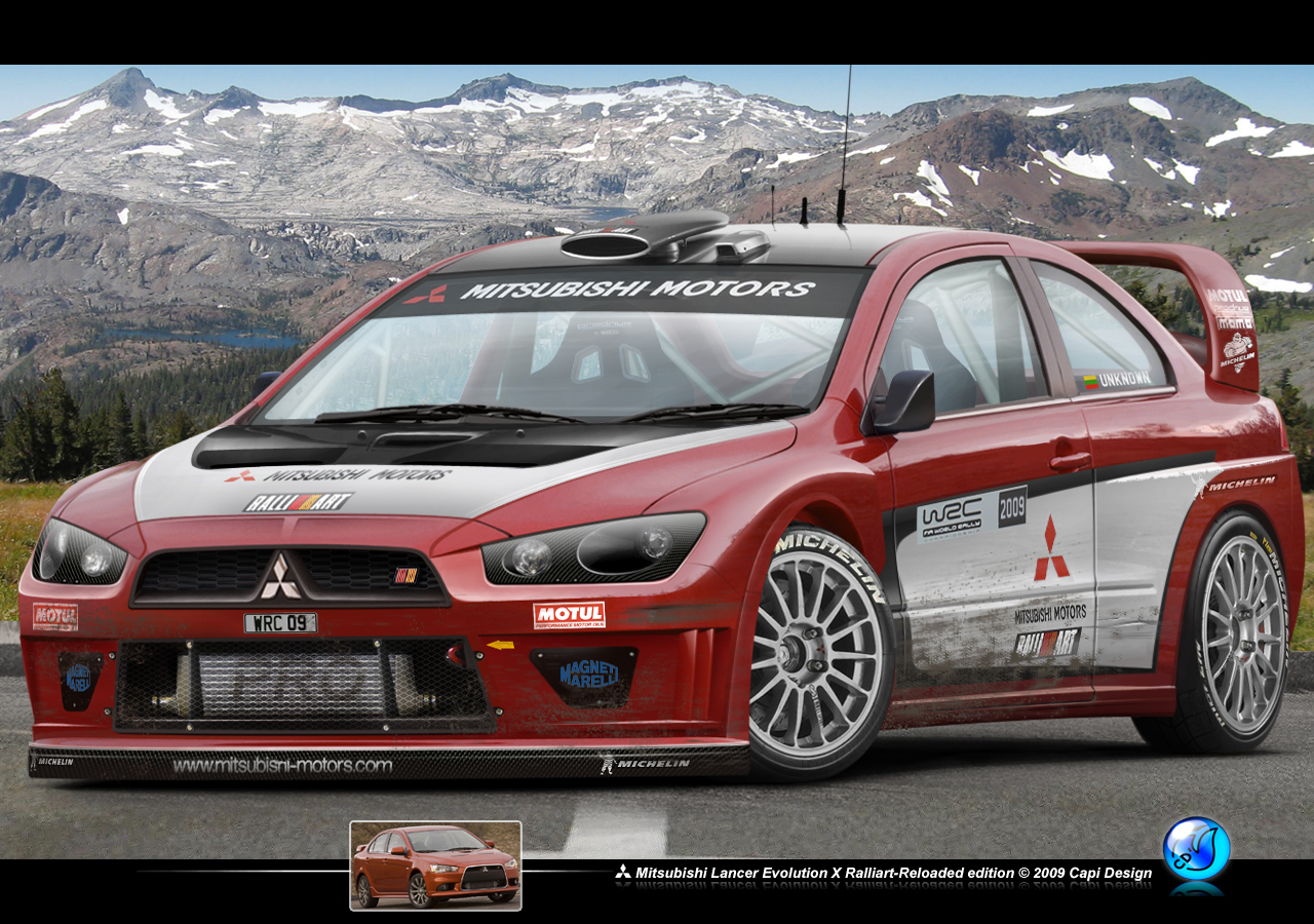 Lancer Evo X Ralliart WRC by CapiDesign on DeviantArt