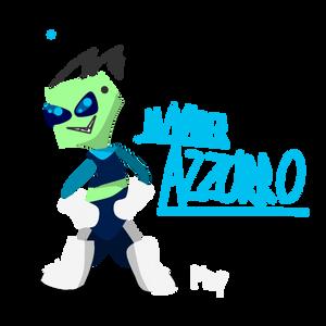 (RQ) Azzurro (c) Invader-Azzurro