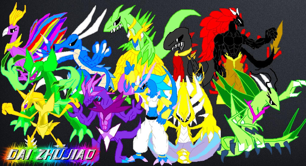 Villains (So far) by Sonicthepokemonchamp