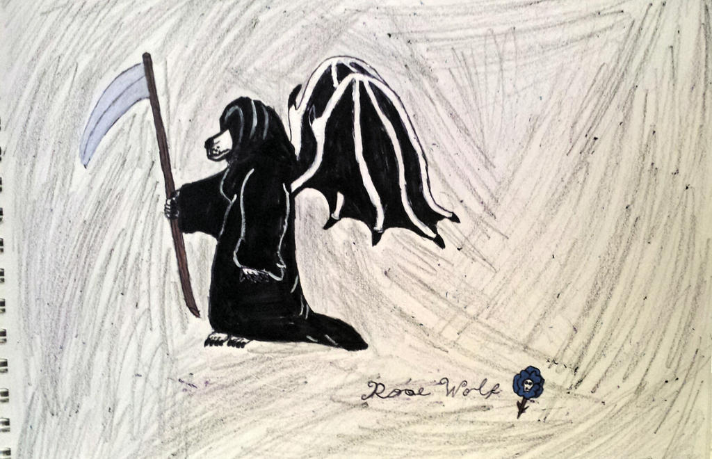 Angel of Death... by Rosewolf86