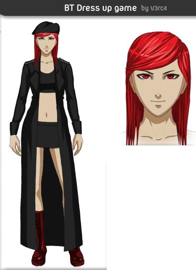Bernadett human form by Rosewolf86