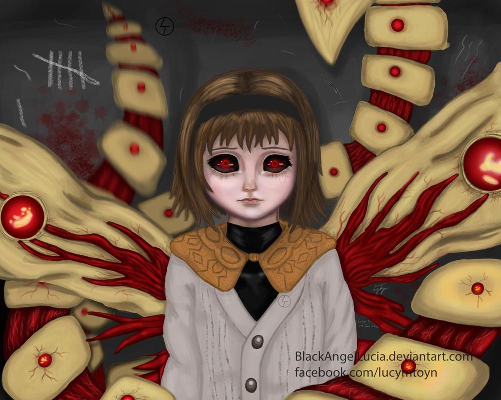 Hinami Tokyo Ghoul by BlackAngelLucia