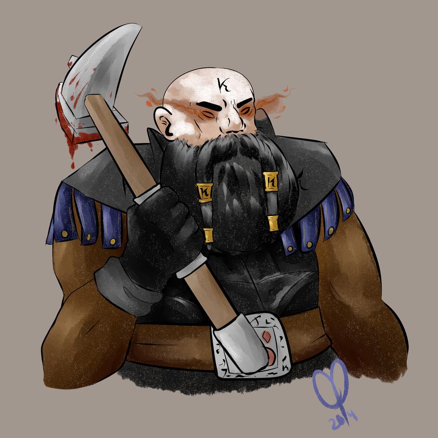 War Dwarf by SometimesCats