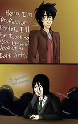 Professor Potter by CharlotteVixen