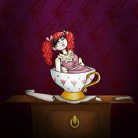 Doll on the dresser