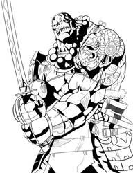 Ogre Samurai Inked