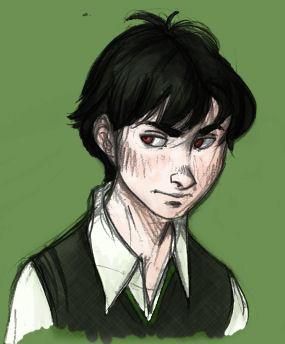 Young Tom Riddle by whitecats