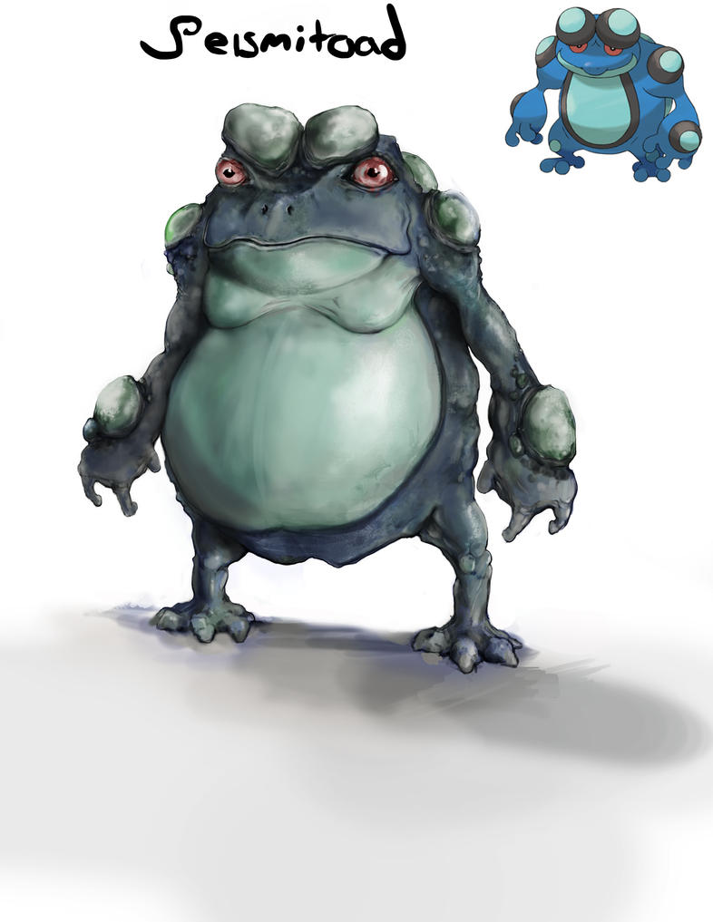 seismitoad by lordrhino15 on DeviantArt